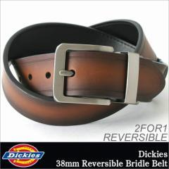 Dickies ディッキーズ ベルト メンズ 本革ベルト レザーベルト 本革 レザー リバーシブル ベルト 大きいサイズ (11di020006)