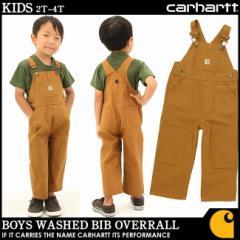 【子供服】Carhartt カーハート ショートオール オーバーオール ボーイズ キッズ 子供服 アメカジ 大きいサイズ (cm8609)