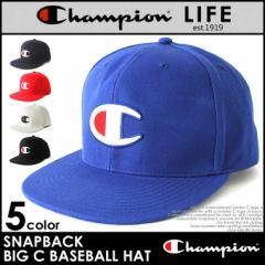 Champion チャンピオン キャップ 帽子 メンズ ビッグロゴ champion メンズ チャンピオン メンズ スナップバックキャップ