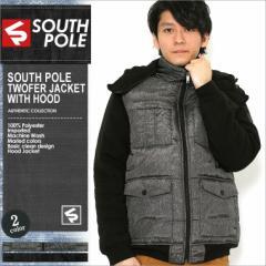 SOUTH POLE サウスポール ジャケット メンズ 大きいサイズ 中綿ジャケット ブルゾン メンズ 大きいサイズ アウター