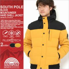 SOUTH POLE サウスポール ジャケット メンズ ブルゾン アウター 中綿 ソフトシェルジャケット ブルゾン 中綿 ジャケット メンズ 秋冬