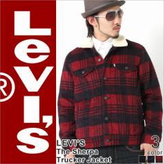 【送料無料】 Levis Levis リーバイス Gジャン ボア メンズ トラッカージャケット デニムジャケット 大きいサイズ 防寒 ブルゾン
