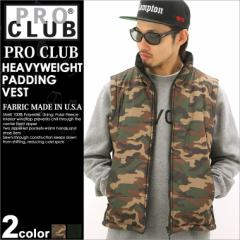 【最安値に挑戦】 PRO CLUB プロクラブ ベスト 中綿 メンズ アメカジ ブランド ストリート セール (proclub 125)