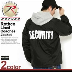 ROTHCO ロスコ ジャケット メンズ 大きいサイズ ナイロンジャケット コーチジャケット バックプリント アメカジ ミリタリー