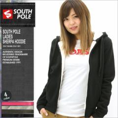 SOUTH POLE サウスポール パーカー レディース ジップアップパーカー 裏起毛 スウェット トップス 大きいサイズ (9003-1592)