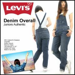 【送料無料】【レディース】 Levis Levis リーバイス デニム オーバーオール レディース ダメージ ワンウォッシュ
