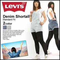 【レディース】 Levis Levis リーバイス デニム ショートオール ヒッコリー ストライプ デニム ジーンズ ワンウォッシュ