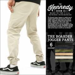 KENNEDY DENIM ケネディデニム ジョガーパンツ メンズ 大きいサイズ ブラック カーキ 無地 アメカジ ストリート