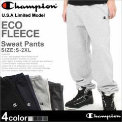 Champion チャンピオン スウェットパンツ メンズ 大きいサイズ スウェット 裏起毛 無地 アメカジ