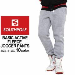 SOUTH POLE サウスポール ジョガーパンツ スウェット ジョガーパンツ 裏起毛 ジョガーパンツ スウェットパンツ メンズ 無地