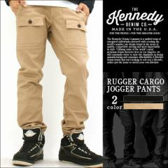 【送料無料】 KENNEDY DENIM ケネディデニム ジョガーパンツ メンズ 大きいサイズ 無地 カーゴパンツ ストリート