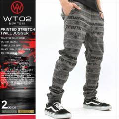 WT02 ジョガーパンツ メンズ 大きいサイズ プリント 柄 迷彩 ウッドランド サルエルパンツ ダンス ストリート (15191-3332)