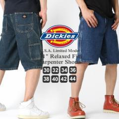 Dickes ディッキーズ ハーフパンツ メンズ 大きいサイズ メンズ ハーフパンツ デニム ショートパンツ デニム アメカジ (dx200)