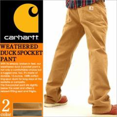 Carhartt カーハート ワークパンツ メンズ ジーンズ ダック アメカジ ストリート 大きいサイズ 通販 人気 (carhartt 100096)