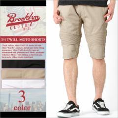 ブルックリンクロス (BROOKLYN CLOTH) ハーフパンツ メンズ ストリート バイカー ファッション ショートパンツ