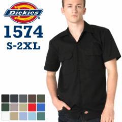ディッキーズ (Dickies) ワークシャツ 半袖 メンズ 大きいサイズ ワークシャツ ディッキーズ 作業服 シャツ 半袖 アメカジ