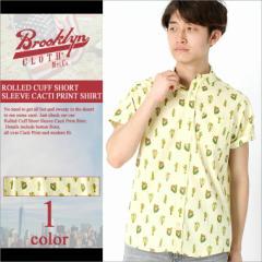 ブルックリンクロス (BROOKLYN CLOTH) シャツ 半袖 メンズ ストリートブランド 半袖シャツ ボタンダウン 半袖