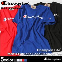 Champion チャンピオン Tシャツ メンズ 半袖 tシャツ 男 半袖tシャツ 大きいサイズ ヘビーウェイト tシャツ 半袖 メンズ champion usa