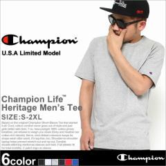 Champion チャンピオン Tシャツ メンズ 半袖 tシャツ 男 半袖tシャツ 大きいサイズ ヘビーウェイト 無地 tシャツ 半袖 メンズ