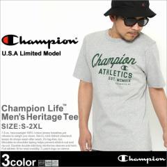 Champion チャンピオン Tシャツ メンズ 半袖 tシャツ 男 半袖tシャツ 大きいサイズ ヘビーウェイト ロゴ tシャツ 半袖 メンズ