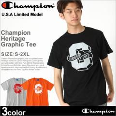 チャンピオン (Champion) Tシャツ メンズ 半袖 大きいサイズ 半袖tシャツ アメカジ ストリート ロゴ