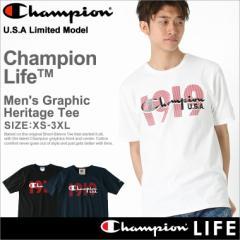 チャンピオン (Champion) Tシャツ メンズ 半袖 大きいサイズ メンズ 半袖tシャツ ロゴ アメカジ ストリート
