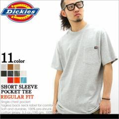 Dickies (ディッキーズ) Tシャツ 男 メンズ 半袖 無地 大きいサイズ ポケット ポケット付きtシャツ 夏 アメカジ ストリート