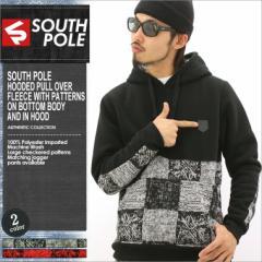 SOUTH POLE サウスポール パーカー メンズ プルオーバー 大きいサイズ スウェット ストリート