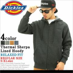 Dickies ディッキーズ パーカー メンズ 大きいサイズ スウェット ジップアップパーカー アメカジ サーマル