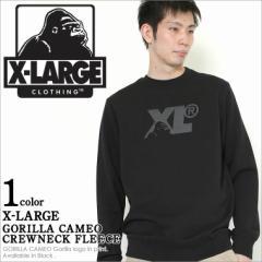 X-LARGE エクストララージ トレーナー メンズ 裏起毛 大きいサイズ アメカジ ストリート スウェット xlarge