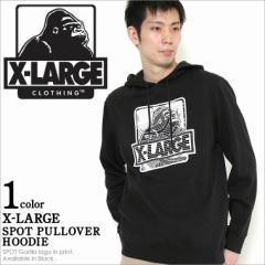 X-LARGE エクストララージ パーカー メンズ 裏起毛 大きいサイズ プルオーバー スウェット xlarge
