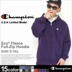 Champion チャンピオン パーカー メンズ 大きいサイズ ジップアップパーカー ジップパーカー アメカジ 無地 裏起毛