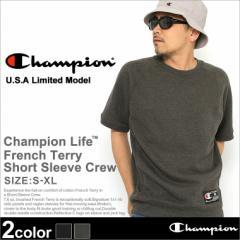 【送料無料】 Champion チャンピオン 半袖 トレーナー メンズ 大きいサイズ 半袖スウェット 夏 トレーナー 半袖
