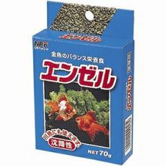 日本ペットフード 金魚の餌 エンゼル 70g