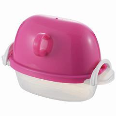 曙産業 ezegg レンジで ゆでたまご 2個用 ピンク ゆで卵メーカー