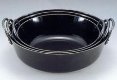 日本製 japan 後藤こう業 鉄人 揚げ鍋 36cm (天ぷら鍋・鉄製・業務用) 104236