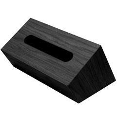 [P]橋本達之助工芸 ティッシュケース バスク ティッシュボックス スラント ブラック