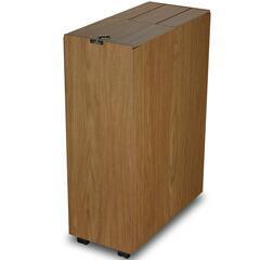 【送料無料】[P]橋本達之助工芸 ゴミ箱 バスク キッチンペール 45L ブラウン