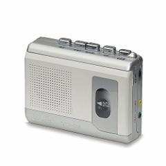 【送料無料】ELPA カセットテープレコーダー (録音・再生)エルパ CTR-300 〔まとめ買い×3セット〕