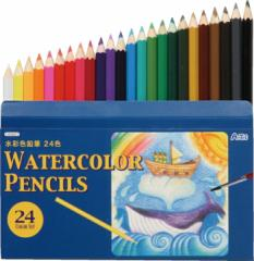 水彩色鉛筆24色