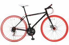 【送料無料】DOPPELGANGER(ドッペルギャンガー) 700C×23C 折りたたみ式クロスバイク 21段変速 822-700 SLOW JAM
