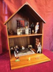 【送料無料】ジャービス商事 天然木無垢材 ドールハウス 本体のみ 36385 木製