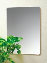 【送料無料】割れない鏡!安心・安全!セーフティミラーM 高さ40×幅29.5cm_