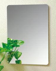 【送料無料】割れない鏡!安心・安全!セーフティミラーL 高さ44×幅35cm_