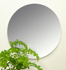 【送料無料】割れない鏡!安心・安全!セーフティミラー丸 高さ29×幅29cm_