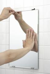 【送料無料】日本製 汚れた浴室の鏡を交換しませ...