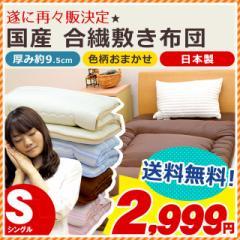【送料無料】【色柄おまかせ】日本製 厚み約9.5cm...