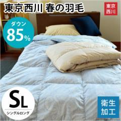 【送料無料】東京西川 春の羽毛 ダウン85%使用 ...