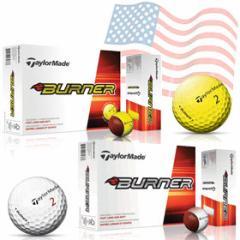テーラーメイド バーナー ゴルフボール 1ダース BURNER USAモデル