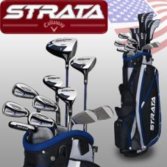 キャロウェイ ストラータ プラス クラブセット 11本+キャディバッグ Strata Plus 16-Piece Men's Set USAモデル